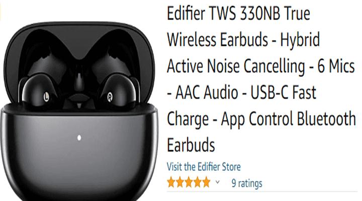 Edifier TWS 330NB True Wireless Earbuds